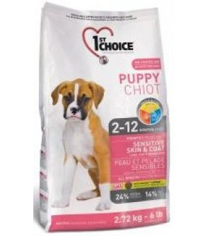 Karma sucha dla psa 1st Choice Puppy Sensitive Lamb Fish/Rice 14 kg
