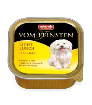 Karma mokra dla psa Animonda Dog Vom Feinsten Light Lunch Indyk z Żółtym Serem 150g