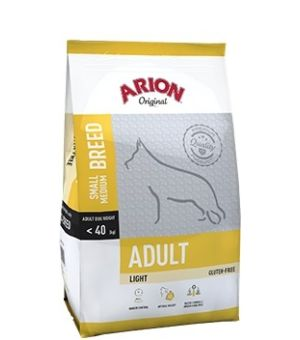 Karma sucha dla psa Arion Original Adult Small/Medium Light 12kg