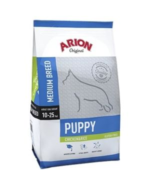 Karma sucha dla psa Arion Original Puppy Medium Chicken&Rice 3kg