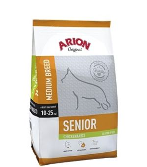 Karma sucha dla psa Arion Original Senior Medium Chicken&Rice 12kg