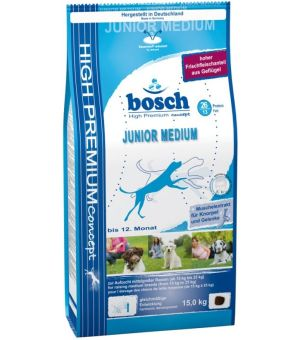 Karma sucha dla psa Bosch Junior Medium - 15kg