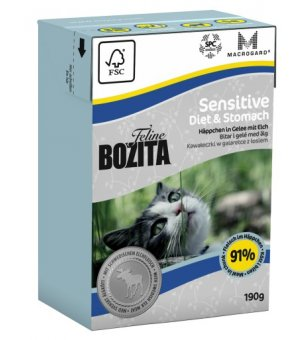 Karma mokra dla kota Bozita Sensitive Diet & Stomach 190g