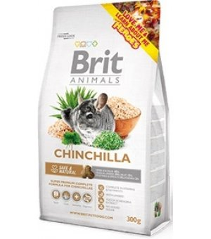 Brit ANIMALS CHINCHILLA COMPLETE dla szynszyli 300g