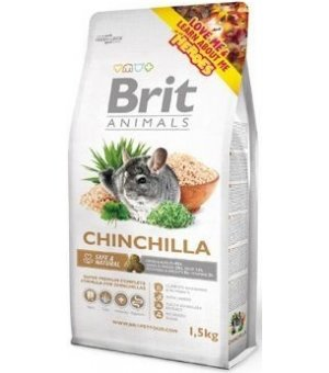 Brit ANIMALS CHINCHILLA COMPLETE dla szynszyli 1,5kg