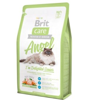 Karma sucha dla kota BRIT CARE Cat Angel I\'m Delighted Senior 2kg