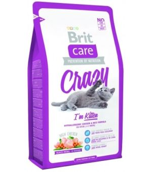 Karma sucha dla kota BRIT CARE Cat Crazy I\'m Kitten 2kg