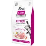BRIT CARE dla kota Grain Free kitten - 7kg