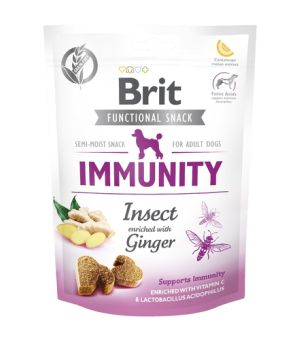 BRIT CARE FUNCTIONAL SNACK - IMMUNITY INSECT - przysmak dla psa 150g