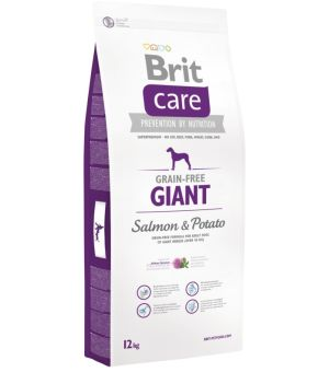 Karma sucha dla psa Brit Care GF Adult Giant Salmon & Potato 12 kg