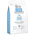 Karma sucha dla psa Brit Care GF Junior Large Salmon & Potato 3kg