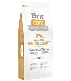 Karma sucha dla psa Brit Care GF Senior & Light Salmon & Potato 12 kg