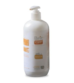 Brit Care Salmon oil (100% oleju z łososia) 500ml