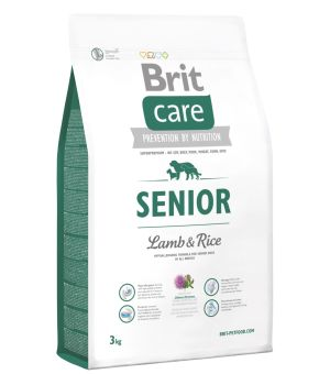 Karma sucha dla psa Brit Care Senior Lamb & Rice 3kg