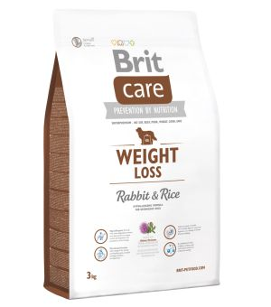 Karma sucha dla psa Brit Care Weight Loss rabbit & rice 3kg