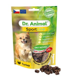 Brit Dr. Animal Sportline turkey 100g