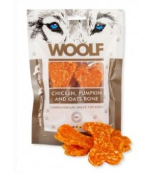 Brit Woolf Chicken/Pumpkin/Oats Bone 100g
