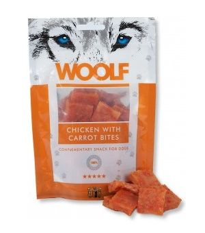 Brit Woolf Chicken With Carrot Bites 100g