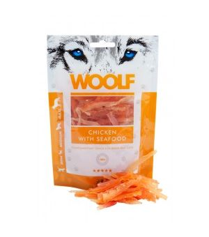 Brit Woolf Chicken With Seafood 100g