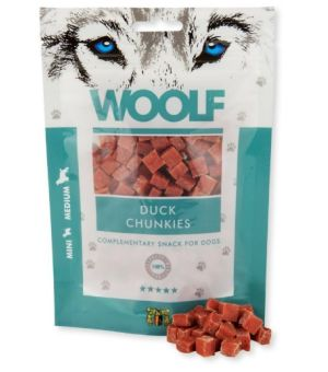 Brit Woolf Duck Chunkies 100g