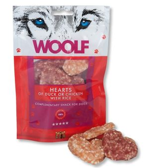 Brit Woolf Hearts of Duck/Chicken/Rice 100g