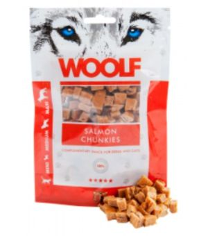 Brit Woolf Salmon Chunkies 100g