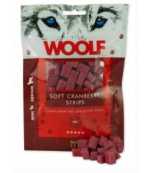 Brit Woolf Soft Cranberry Strips 100g