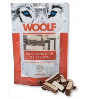Brit Woolf Soft Sandwich of Salmon 100g