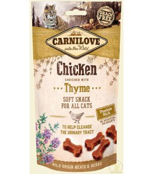 Carnilove Cat Snack Soft Chicken & Thyme 50g