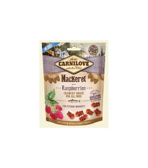 Carnilove Dog Snack Crunchy Mackerel & Raspberries 200g