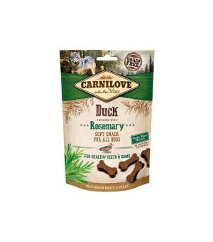 Carnilove Dog Snack Soft Duck & Rosemary 200g
