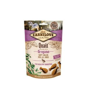 Carnilove Dog Snack Soft Quail & Oregano 200g