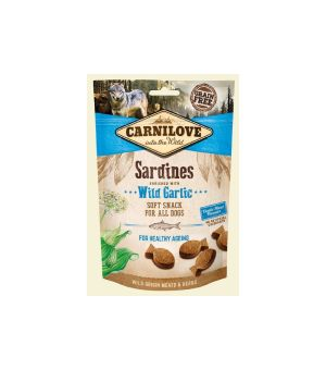 Carnilove Dog Snack Soft Sardines & Wild Garlic 200g