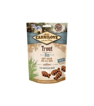 Carnilove Dog Snack Soft Trout & Dill 200g