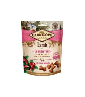Carnilove Snack Fresh Crunchy Lamb&Cranberries 200g