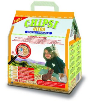 Cat\'s Best Chipsi Ultra Podściółka granulowana 10L/ 4,6kg