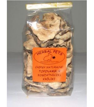 Herbal Pets Chipsy naturalne - Topinambur 75g