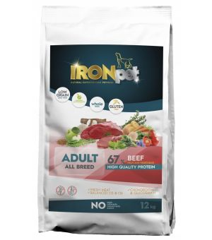 IRONpet BEEF All Breed Adult Wołowina 12kg