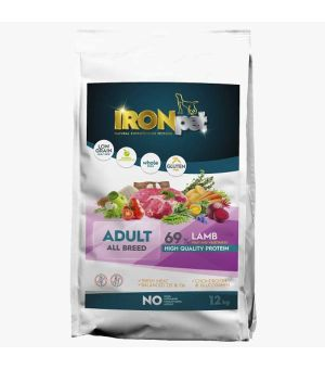 IRONpet Lamb All Breed Adult 12kg