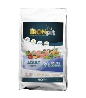 IRONpet TURKEY Medium Adult Indyk 12kg