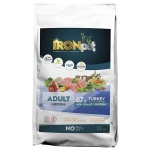 IRONpet TURKEY Medium Adult Indyk 12kg + Naturel Crispy GRATIS