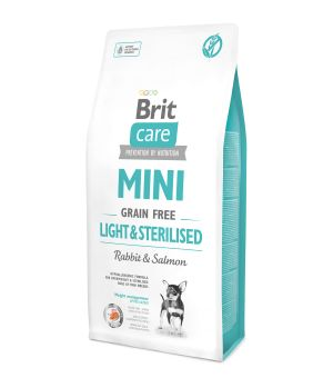 Karma sucha dla psa Brit Care Mini Light & Sterilised 400g