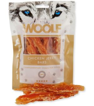 Brit Woolf Chicken Jerky Bars 100g