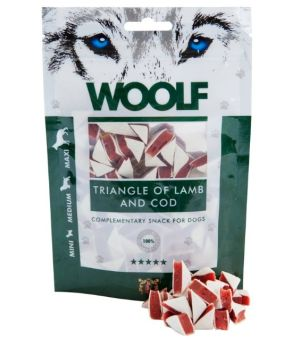 Brit Woolf Triangle Lamb/Cod 100g