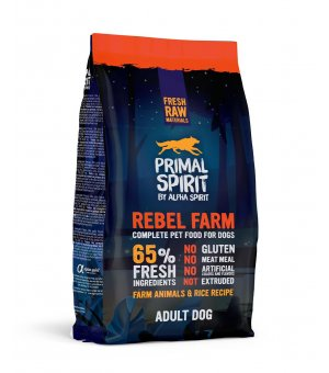 Primal Spirit 65% Rebel Farm 12kg
