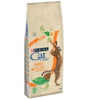 Karma sucha dla kota Purina Cat Chow Adult Chicken - 15kg