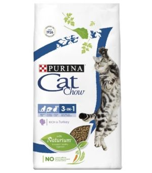 Karma sucha dla kota Purina Cat Chow Special Care 3w1 Hairball/Urinary/Oral 1,5kg