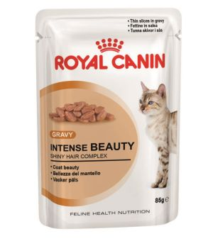 Karma mokra dla kota Royal Canin Intense Beauty w sosie -85g