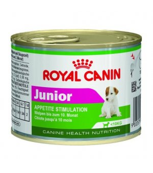 Karma mokra dla psa Royal Canin Mini Junior 195g puszka