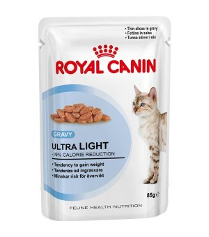 Karma mokra dla kota w sosie Royal Canin Ultra Light -85g